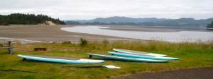 Nehalem Bay at Low Tide