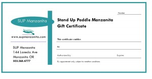 A Gift of Stand Up Paddling!